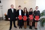 Stypendium za wybitne wyniki w nauce w I semestrze roku szkolnego 2014/2015