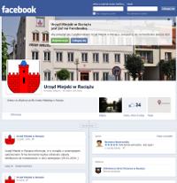 Profil Urzędu Miejskiego w Raciążu na Facebooku