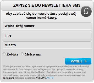 Newslettera SMS